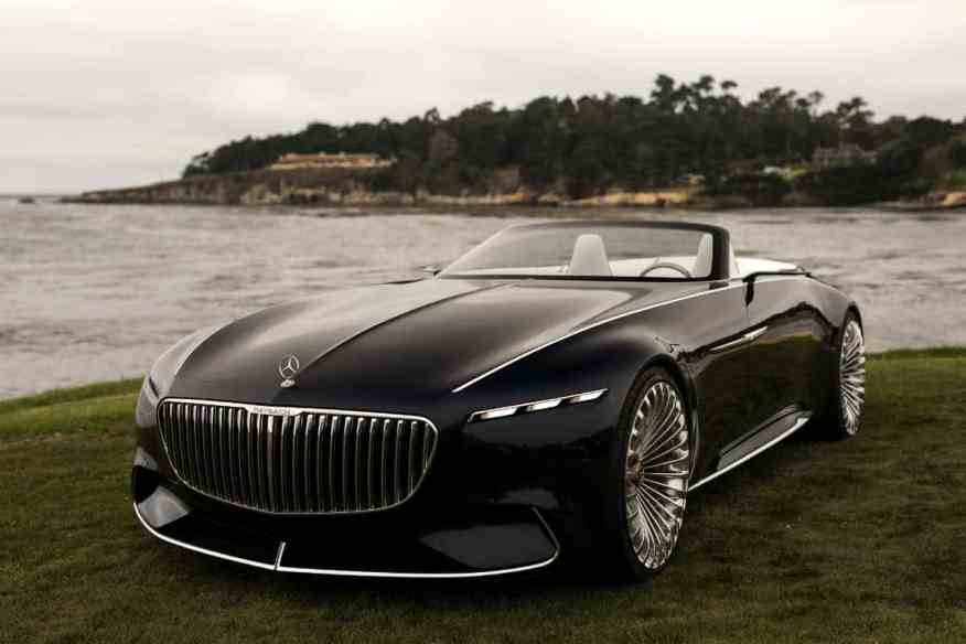 ELECTRIC CONCEPT CAR VISION MERCEDES MAYBACH 6