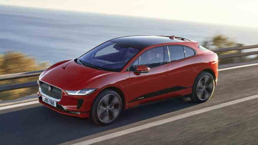 ELECTRIC SUV CAR JAGUAR iPACE