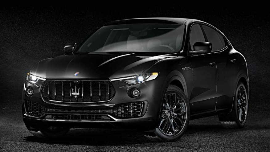 SPECIAL EDITION CAR MASERATI LEVANTE NERISSIMO EDITION