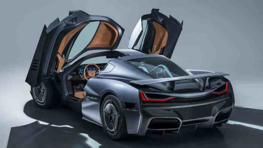 ELECTRIC HYPERCAR RIMAC C TWO