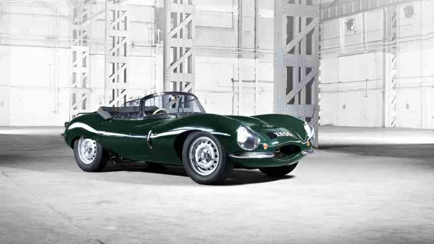 LEGENDARY CLASSIC CAR JAGUAR XKSS