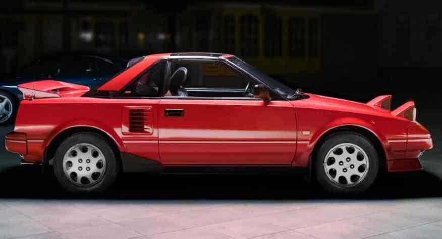 CLASSIC CAR TOYOTA MR2