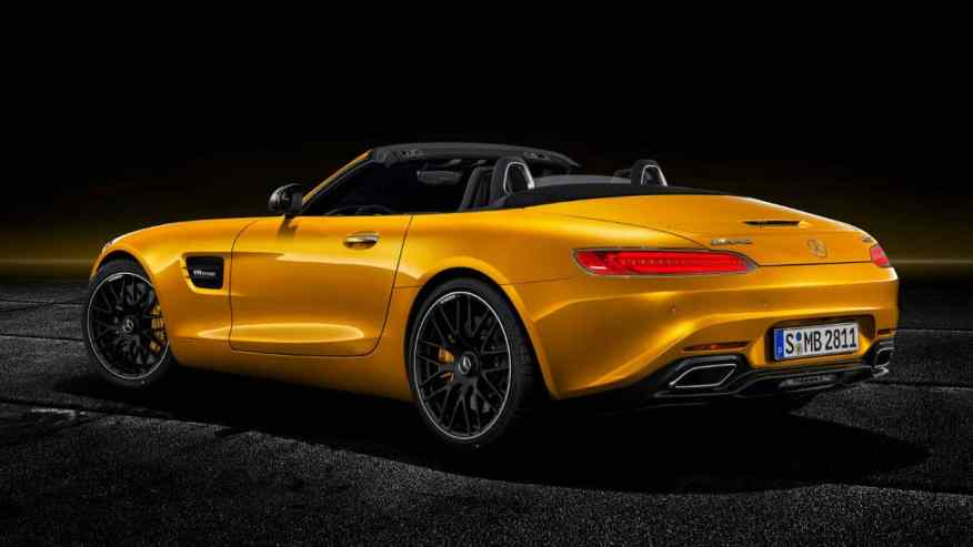 Mercedes AMG GT S Roadster