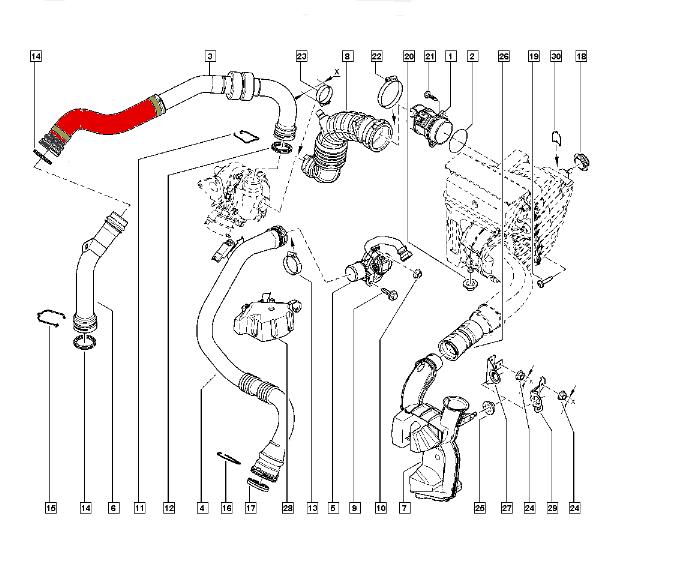 PRZEWÓD RENAULT MEGANE III 1.5 8200760281 MANC00052-01