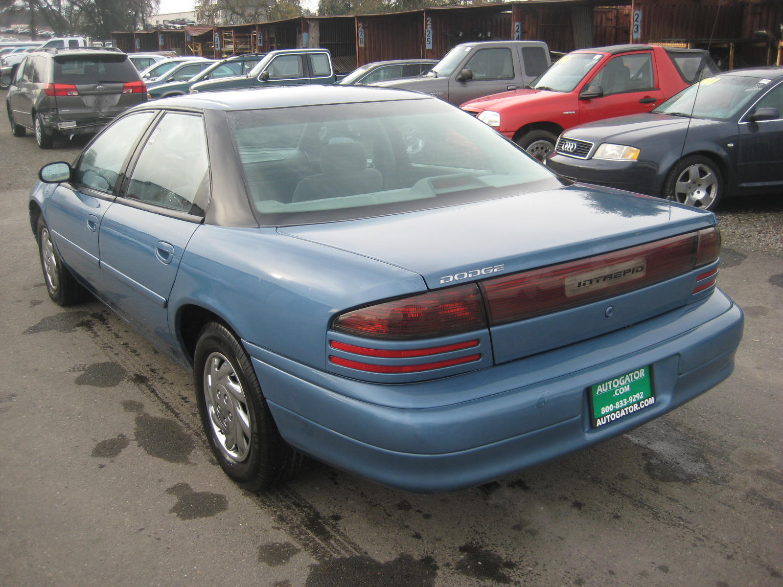 1995 Dodge Intrepid – pictures. information and specs - Auto-Database.com