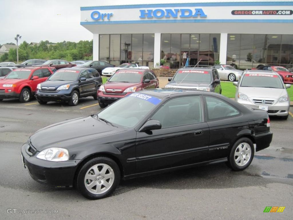 2000 Honda Civic Coupe Vii Pictures Information And