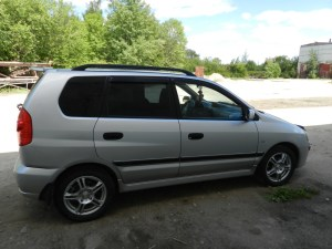 2003 Mitsubishi Space star (dg0) – pictures, information