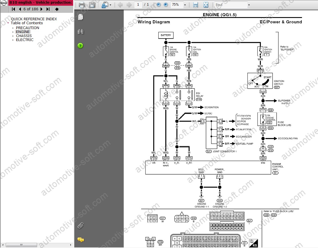 Nissan Terrano Electrical Diagrams - Wiring Database