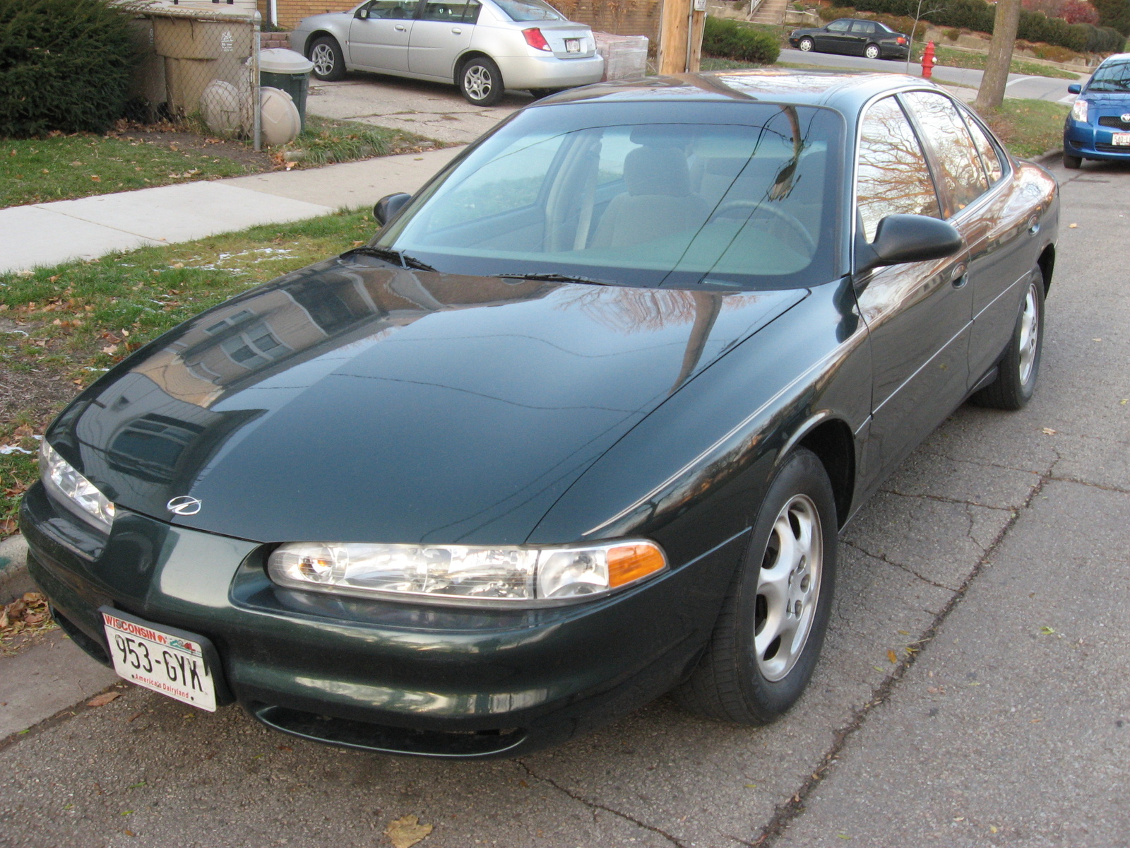 hight resolution of oldsmobile aurora 1999