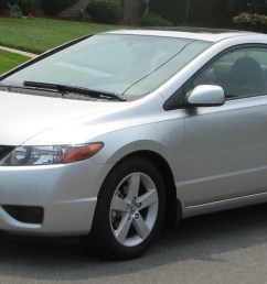 pictures of honda civic viii coupe 2010 [ 1504 x 800 Pixel ]