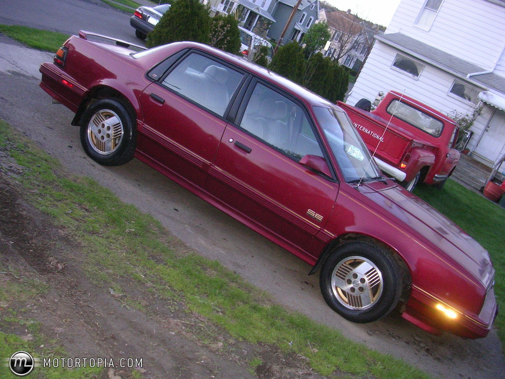 hight resolution of pontiac 6000 1990 pictures 5