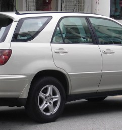 2000 toyota harrier ndash pictures information and specs [ 2137 x 1066 Pixel ]