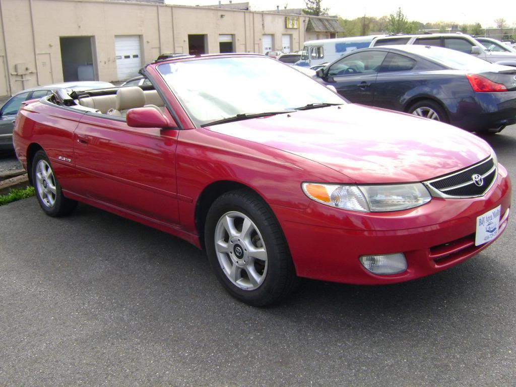 hight resolution of toyota solara i convertible 2001 images 6