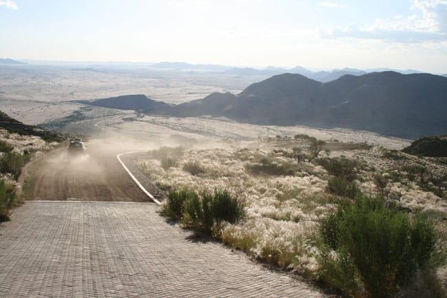 Škoda Yeti in Namibia