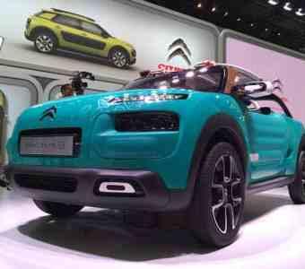 Bild 4: Concept Car Citroën Cactus M