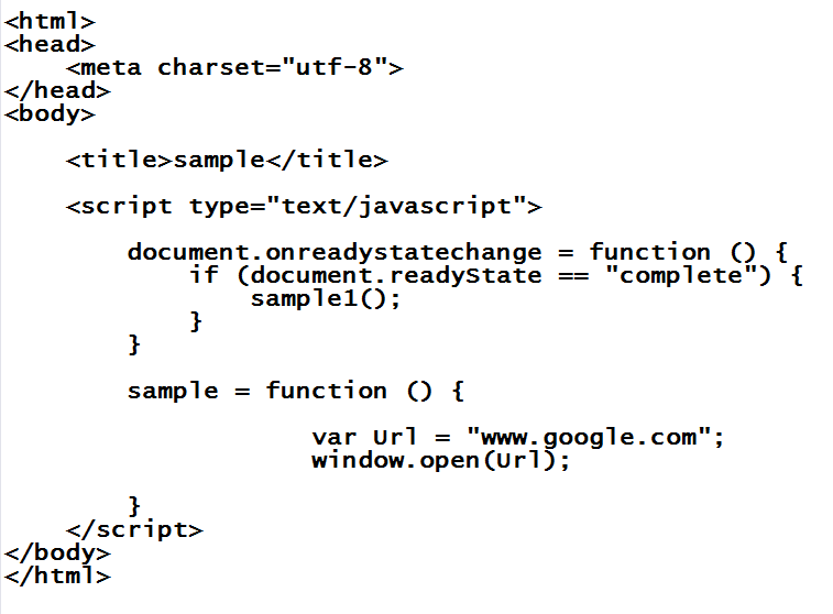 include javascript in html