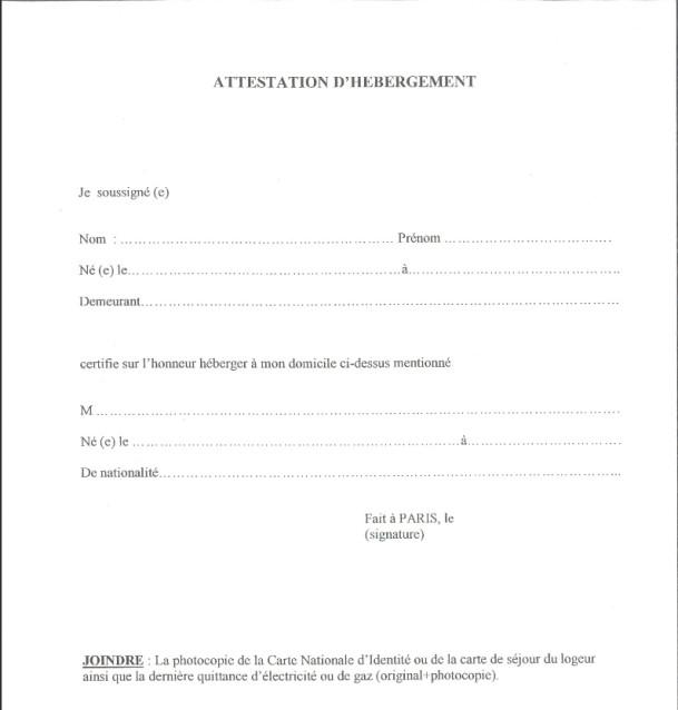 certificat de déclaration de perte