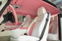 Růžový Rolls-Royce Wraith 3
