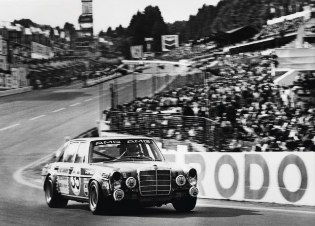 AMG 300 SEL 6.8 racing tourer, Spa-Francorchamps (1971)