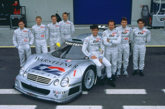 1998 Mercedes CLK-GTR racing touring car