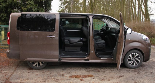 Test Citroën SpaceTourer XL 2.0 BlueHDi 180k EAT6