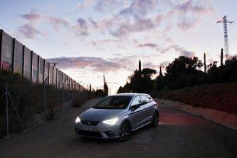 První foto ve Španělsku, hned za hranicemi s Francií