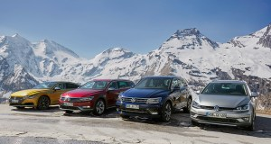 Volkswagen Arteon, Passat Alltrack, Tiguan R-Line und Golf Alltrack