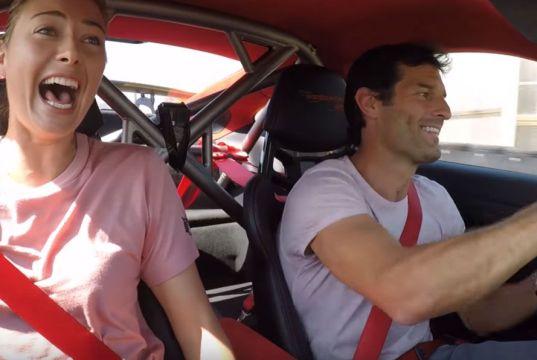 Maria-Sharapova-Mark-Webber-Porsche-911-GT2-RS-okruh