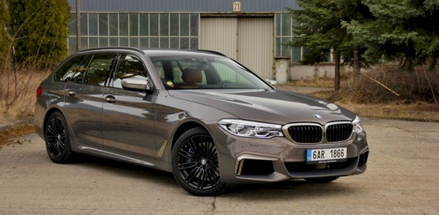 Test BMW M550d xDrive Touring (2018)