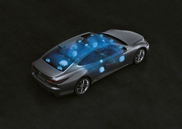 Lexus LS audio
