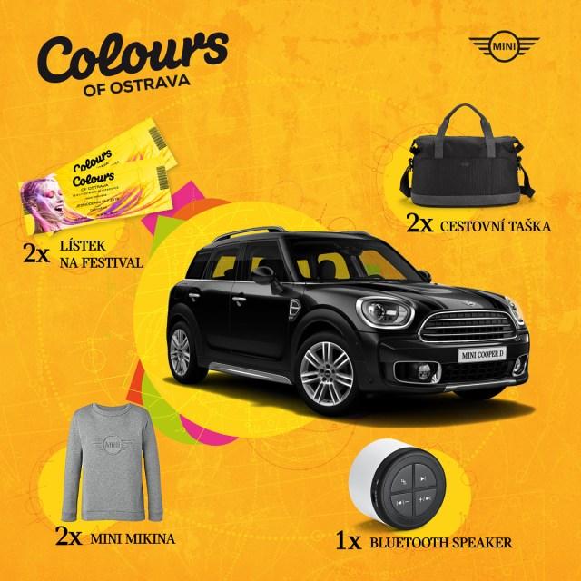 MINI Cooper D Countryman Colours of Ostrava