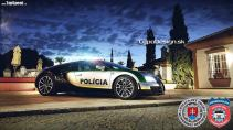 policie bugatti