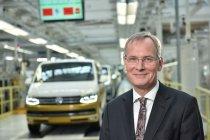 500 000. Volkswagen T6 a Dr. Eckhard Scholz, předseda představenstva značky Volkswagen Užitkové vozy