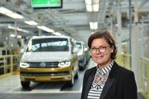 500 000. Volkswagen T6 a Bertina Murkovicová, předsedkyně závodní rady