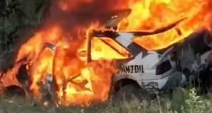 Ken-Block-Ford-Escort-RS-Cosworth-nehoda-ohen-video