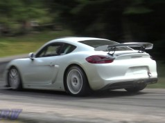 Porsche Cayman GT4 Clubsport video