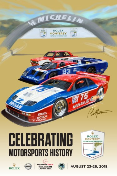 Nissan celebrates 50 years of motorsports success in Monterey