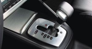 Volkswagen 6-speed DSG: Golf R32 lever gate