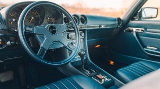 Mercedes-Benz-450-SLC-motor-Toyota-Supra- (6)