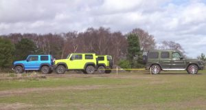 tazne-valky-mercedes-amg-g63-suzuki-jimny-video