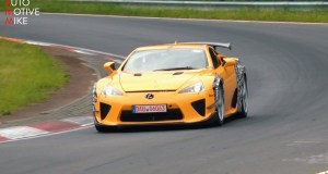 Lexus LFA Nürburgring Edition - spy video test