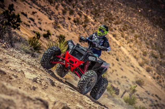 Polaris Sportman and Scrambler Unveil; Mojave Desert; Las Vegas, Nevada; March 1, 2019; Photo: Tyler Tate/T Squared Sports Media