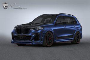 Lumma Design se vyřádil na BMW X7. Výsledek je minimálně lehce diskutabilní
