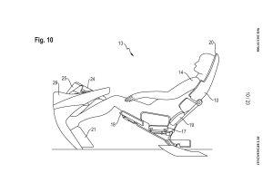 Porsche si patentovalo nová sedadla určená pro autonomní auta