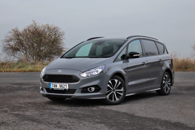 Test Ford S-MAX 1.5 EcoBoost ST-Line (2019)