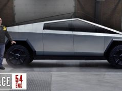 tesla cybertruck garage 54