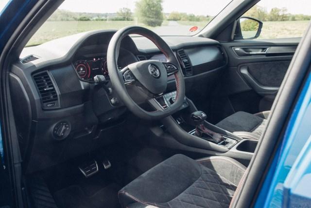 Škoda Kodaiq RS (2020) - interier