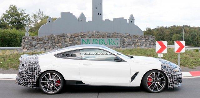 BMW-M8-motor-uprostred-spy-foto-nurburgring-carscoops_com-2