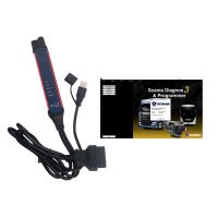 2021 Latest Version Scania SDP3 V2.48 Scania VCI-3 VCI3 Scanner Wifi Diagnostic Tool For Scania Truck