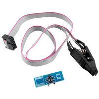 SOIC8 SOP8 Test Clip For EEPROM 93CXX/25CXX/24CXX in-circuit programming on USB Programmer TL866CS TL866A EZP2010